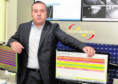 Entrevista Raul Colucho presidente Grupo Sureste de seguridad © Nacho García 2/7/2015